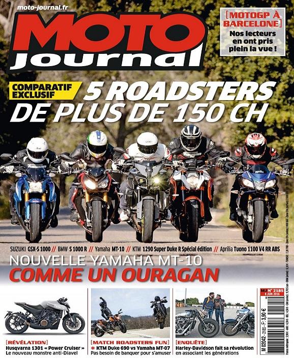 Moto Journal N°2185 Du 8 Juin 2016