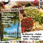 Voyages et Gastronomie N°2 - Faites Voyager Vos Sens