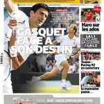 L'Equipe Du Vendredi 10 Juillet 2015