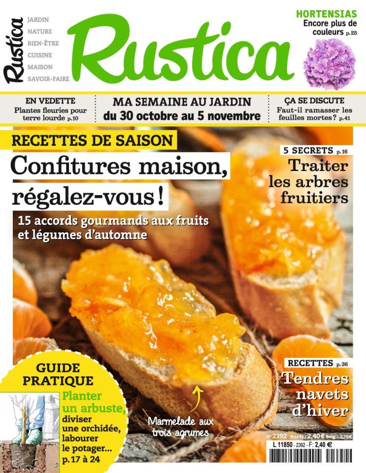 Rustica N°2392 Du 30 Octobre au 5 Novembre 2015