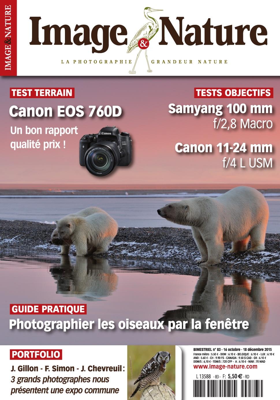 Image et Nature N°83 – Novembre-Decembre 2015