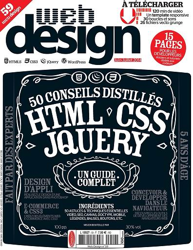 Web Design Magazine N°59