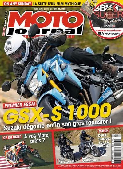 Moto Journal N°2139 Du 26 Mars au 1 Avril 2015