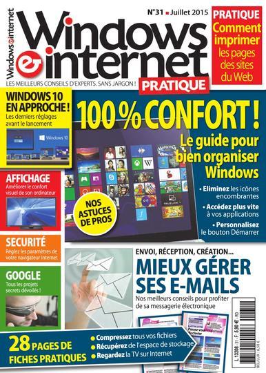 Windows et Internet Pratique N°31 – Juin 2015