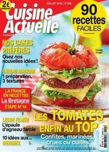 Cuisine Actuelle N°295 - Juillet 2015