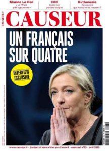 Causeur N°23 - Avril 2015
