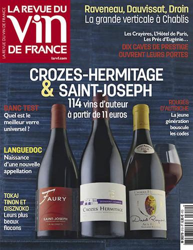 La Revue Du Vin De France N°619 - Mars 2018