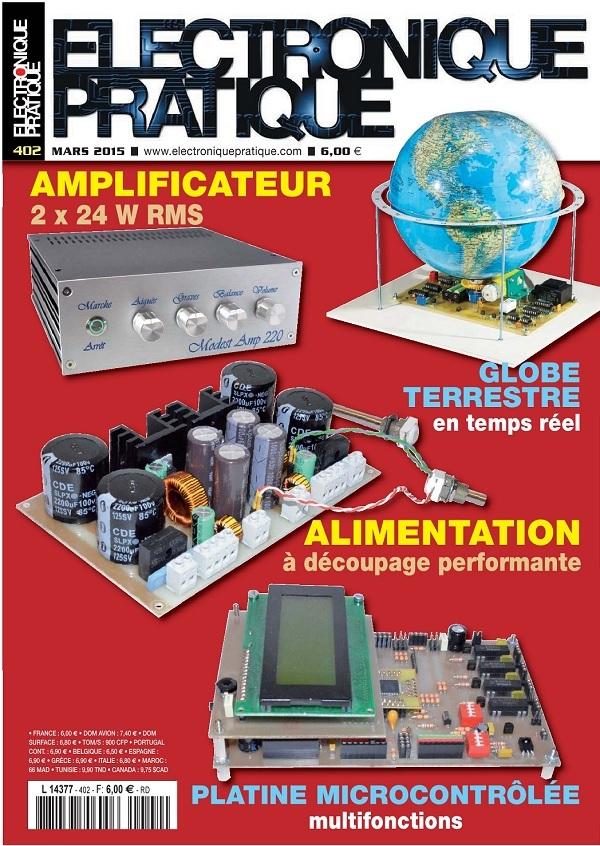 Electronique Pratique N°402 – Mars 2015