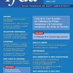 Revue Française De Droit Administratif (RFDA) (2015)