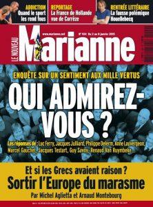 Marianne N°924 Du 2 au 8 Janvier 2015