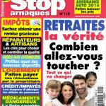 Stop Arnaques N°110 - Avril-Mai 2016