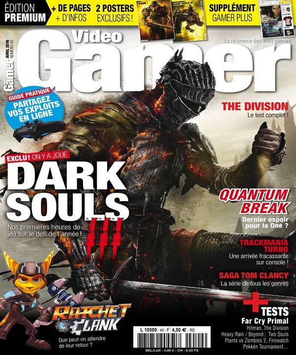 Video Gamer N°40 – Avril 2016