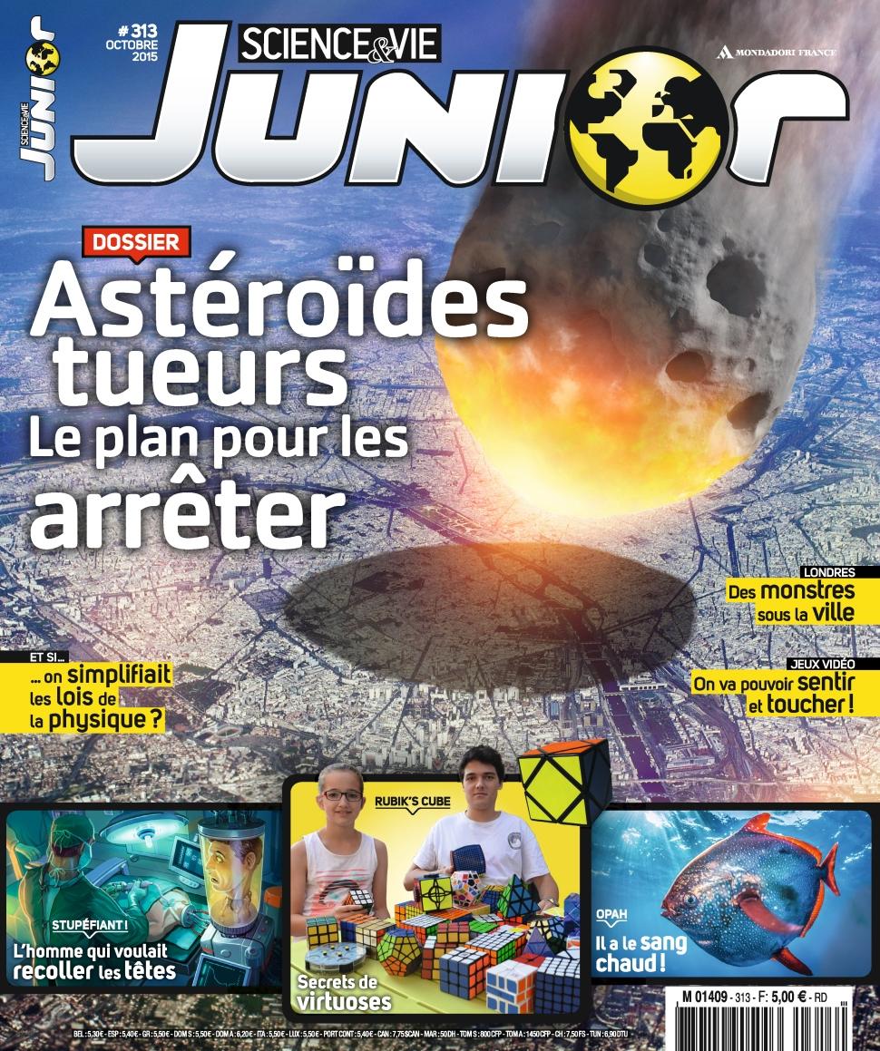Science et Vie Junior N°313 – Octobre 2015