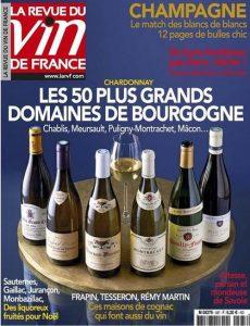 La Revue du Vin de France N°587 - Décembre 2014-Janvier 2015