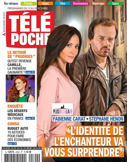 Télé Poche N°2592 Du 17 au 23 Octobre 2015