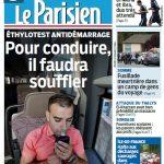 Le Parisien + Journal De Paris Du Mercredi 26 Aout 2015