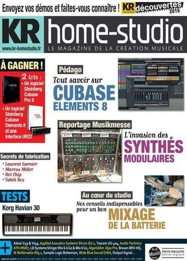 Keyboard Recordings Home Studio N°307 – Juin 2015