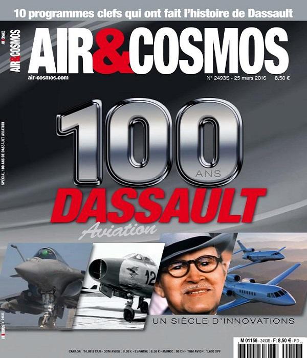 Air et Cosmos N°2493 Du 25 au 31 Mars 2016