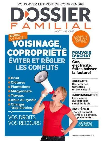 Dossier Familial N°487 – Aout 2015