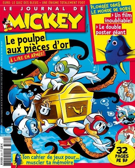 Le Journal De Mickey N°3340 Du 22 au 28 Juin 2016