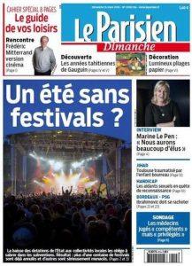 Le Parisien Du Dimanche 15 Mars 2015