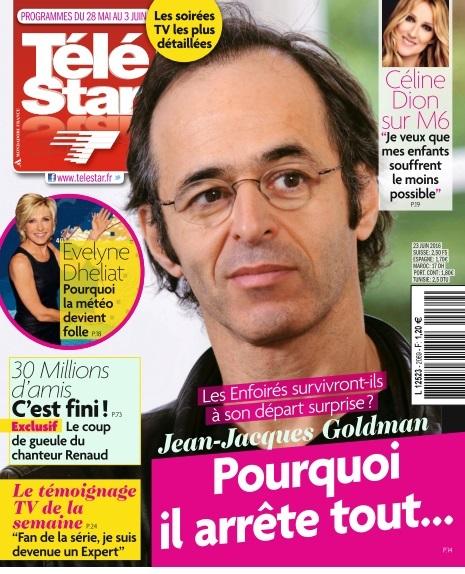 Télé Star N°2068 Du 28 Mai au 3 Juin 2016