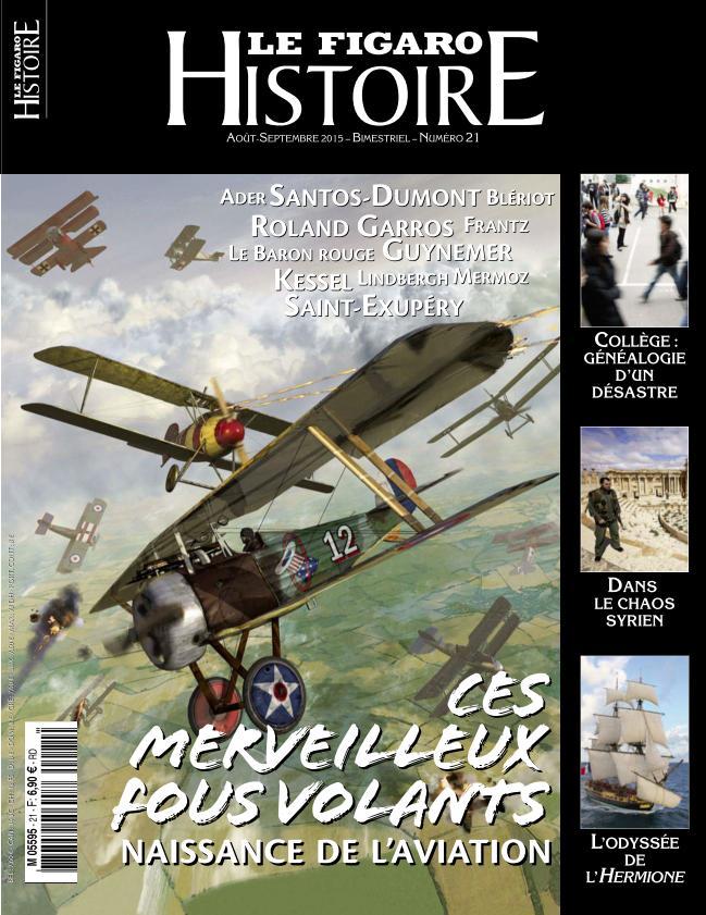 Le Figaro Histoire N°21 – Aout-Septembre 2015