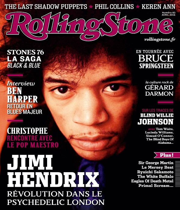 Rolling Stone N°83 – Avril 2016
