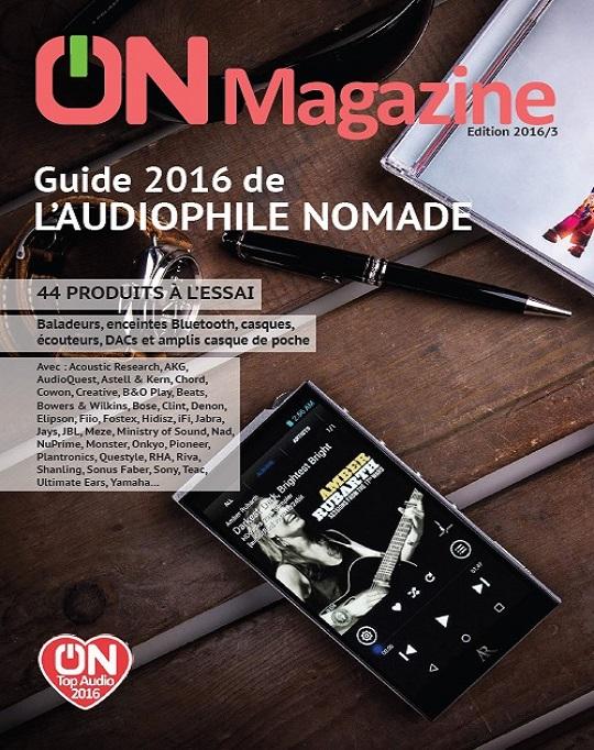 ON Magazine – Guide de L'Audiophile Nomade 2016