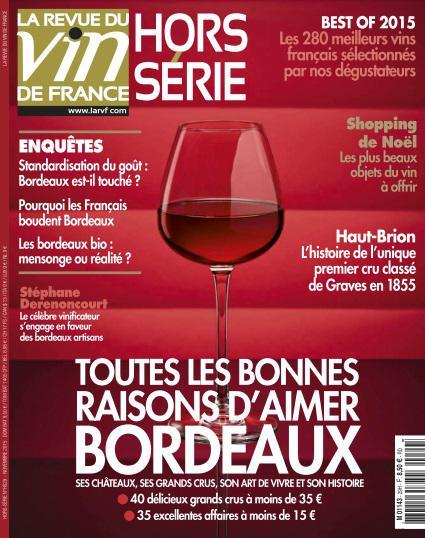 La Revue Du Vin De France Hors Série N°29 - Novembre 2015