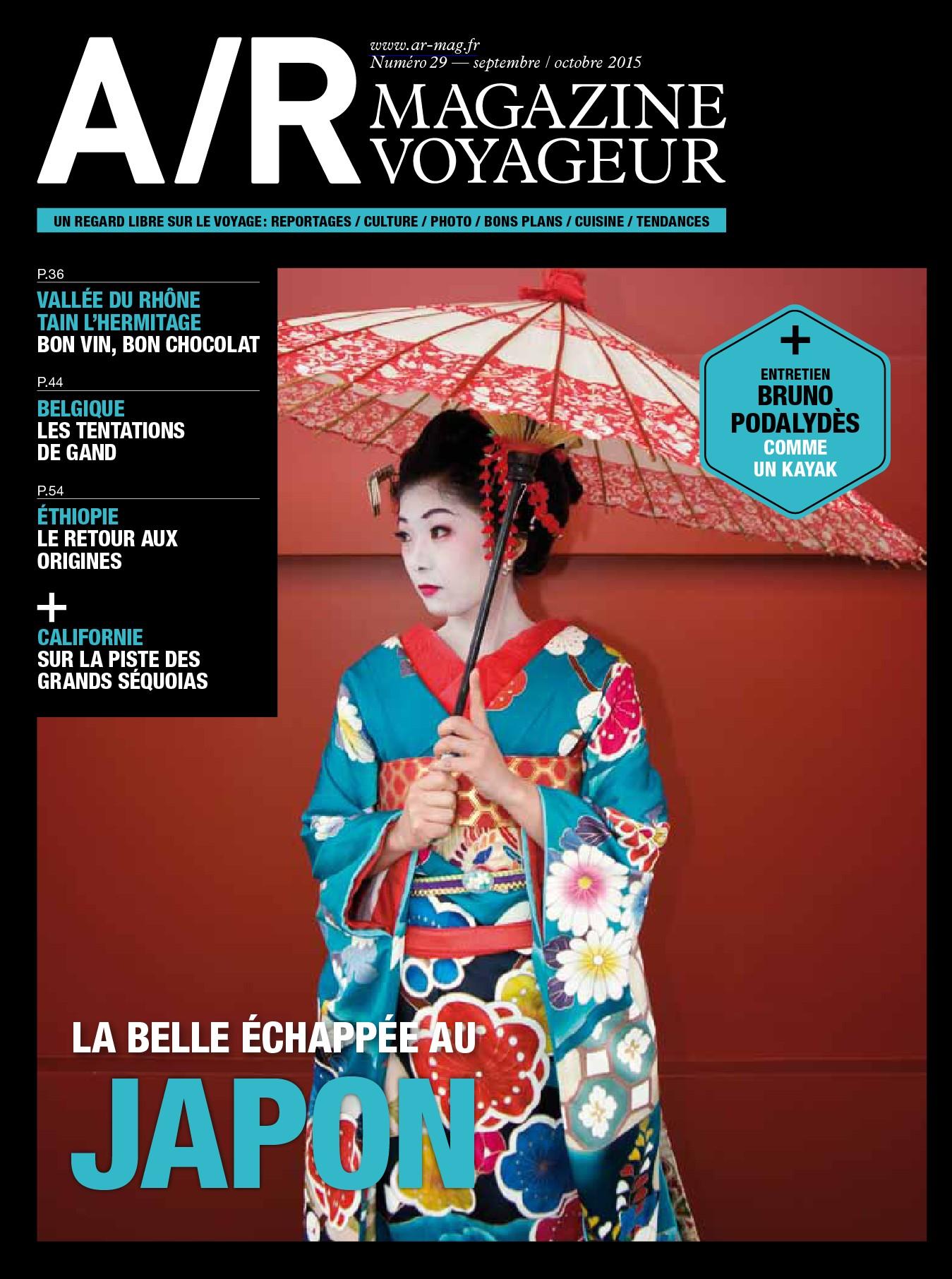 A/R Magazine Voyageur N°29 – Septembre-Octobre 2015