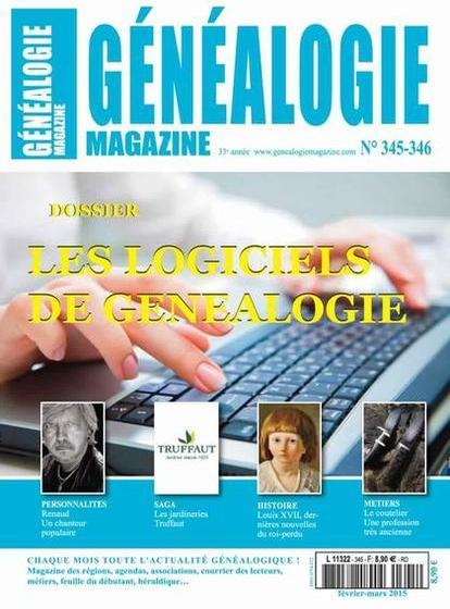 Généalogie Hors Série N°345-346 – Février-Mars 2015