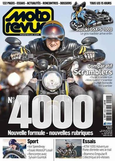 Moto Revue N°4000 Du 26 Mars 2015