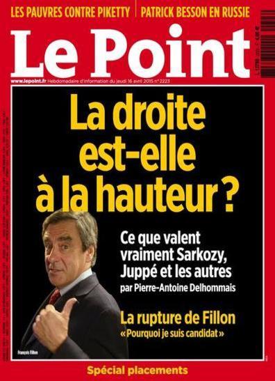 Le Point N°2223 Du 16 au 22 Avril 2015