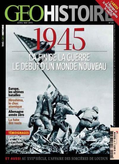 Geo Histoire N°20 – Avril-Mai 2015