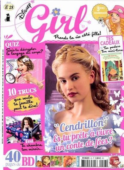 Disney Girl N°28 – Avril 2015