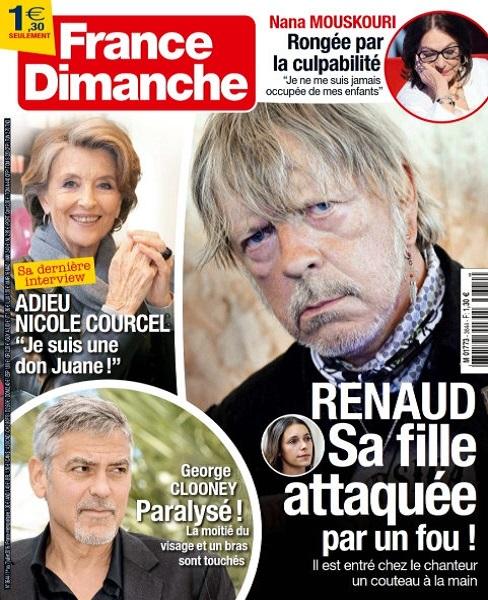 France Dimanche N°3644 Du 1er au 7 Juillet 2016