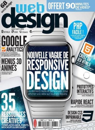 Web Design N°68 – Aout-Septembre 2015