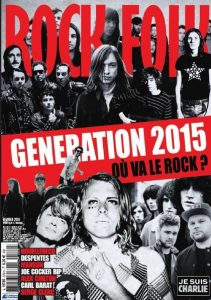 Rock & Folk N°570 - Février 2015