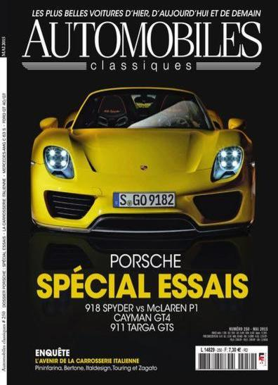 Automobiles Classiques N°250 – Mai 2015