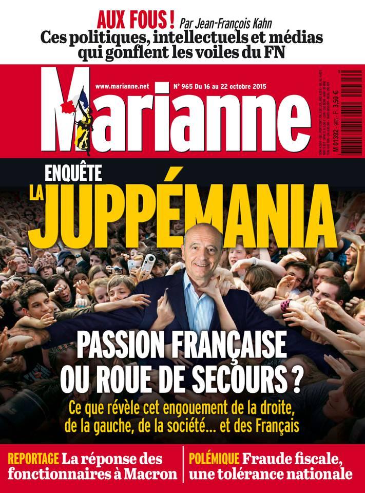 Marianne N°965 Du 16 au 22 Octobre 2015