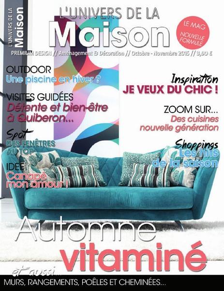 L'Univers De La Maison – Octobre-Novembre 2015