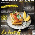 Cuisine et Vins De France N°166 - Novembre 2015