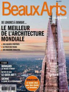 Beaux Arts Magazine N°369 - Mars 2015