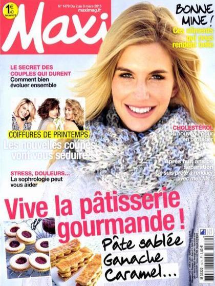 Maxi N°1479 Du 2 au 8 Mars 2015