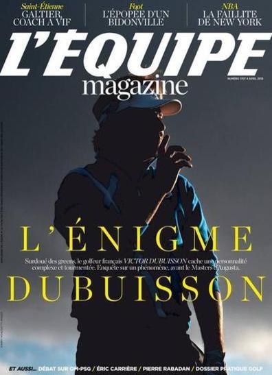 L'Equipe Magazine N°1707 Du Samedi 4 Avril 2015