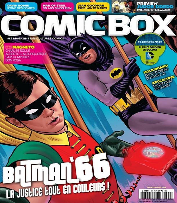 Comic Box N°99 – Mars 2016