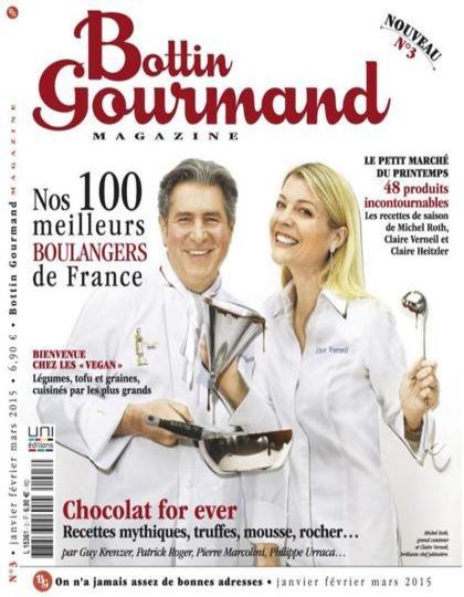 Bottin Gourmand N°3 – Janvier-Mars 2015