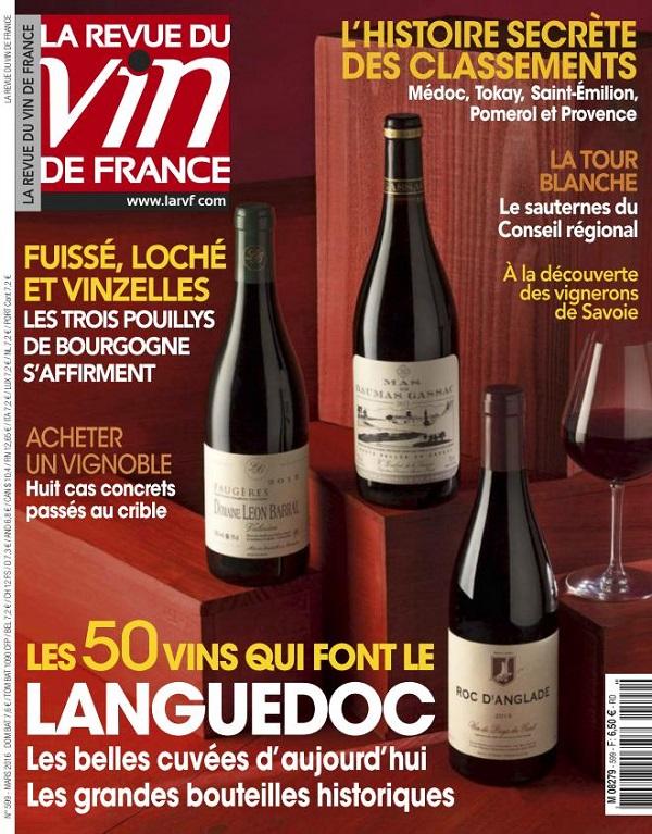 La Revue Du Vin De France N°599 - Mars 2016