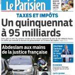 Le Parisien + Journal De Paris Du Jeudi 28 Avril 2016